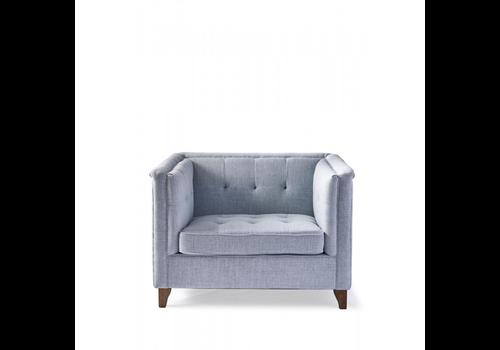 Homestore Radziwill Love Seat Lin Morning Blu