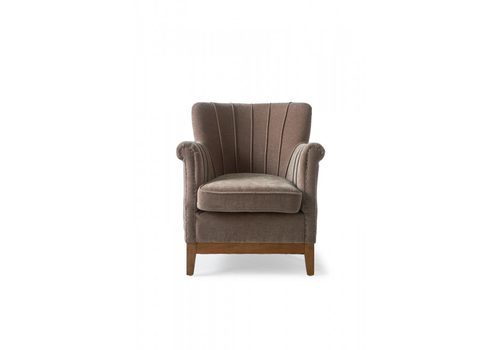 Homestore East Village Armchair Velvet Dolphi