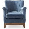 Homestore East Village Armchair Velvet Indigo
