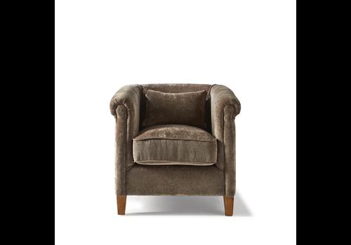 Homestore Cutler Park Club Chair Velvet Dolph
