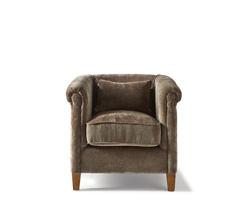 Cutler Park Club Chair Velvet Dolph