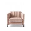 Homestore Miami Armchair Velvet Pink