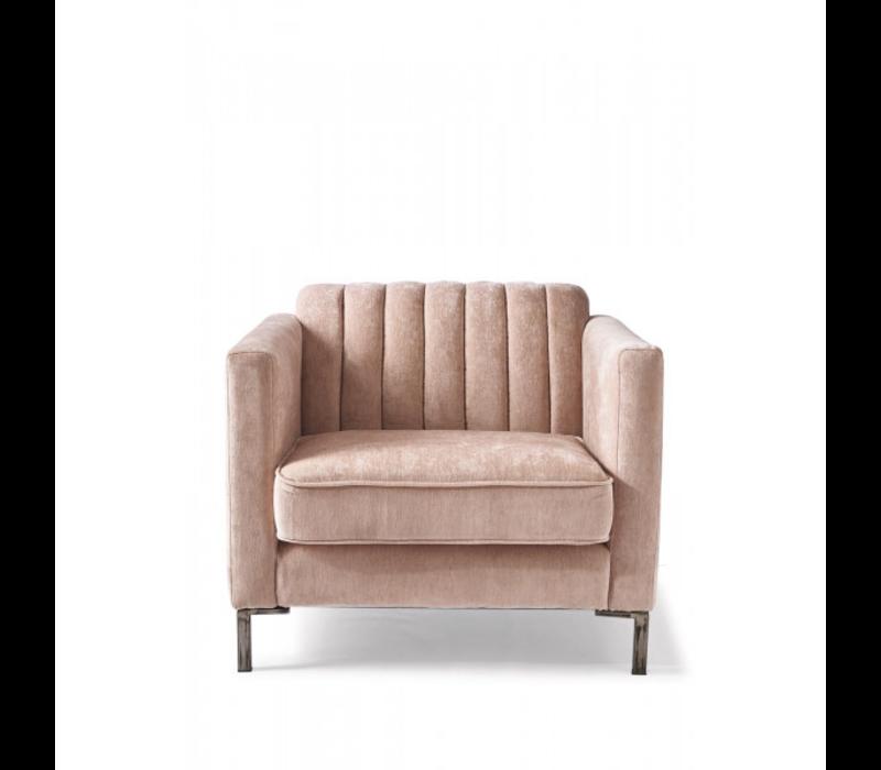 Miami Armchair Velvet Pink