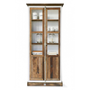 Homestore Driftwood Glass Cabinet