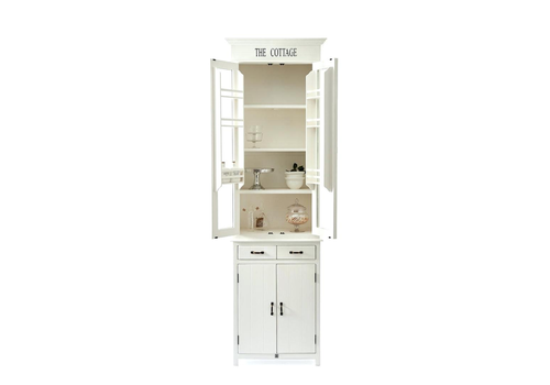 Homestore The Cottage Kitchen Glass Cabinet