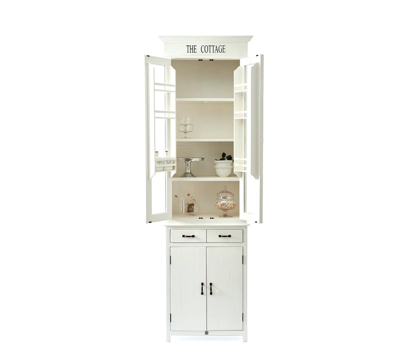 The Cottage Kitchen Glass Cabinet