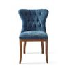 Homestore Wessex Dining Chair Velvet Indigo