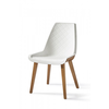 Homestore Amsterdam City Dining Chair White
