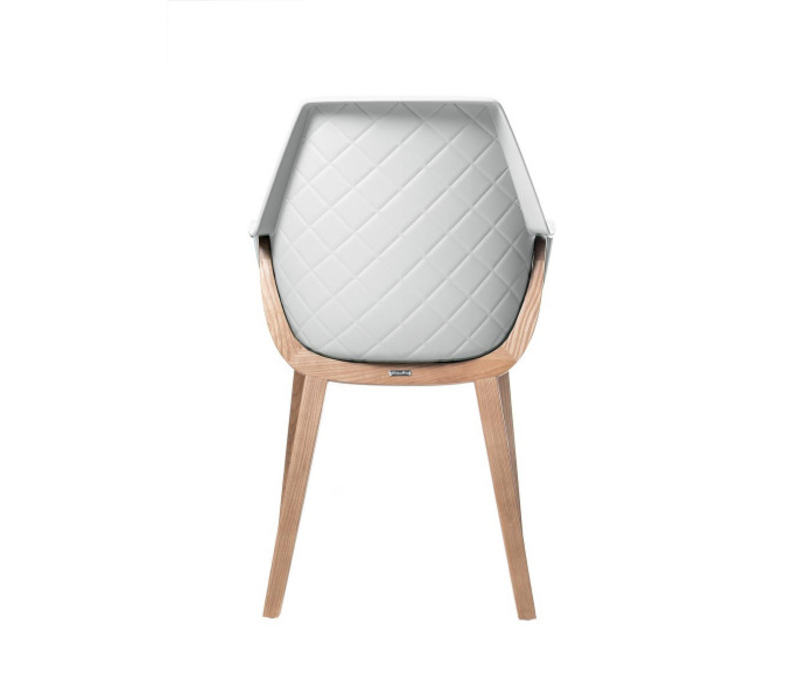 Amsterdam City Dining Chair White
