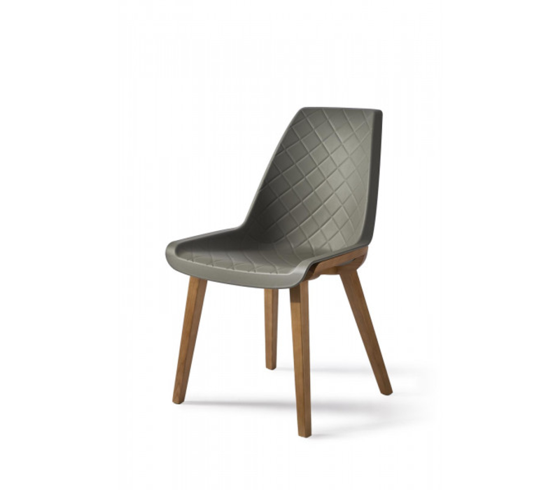 Amsterdam City Dining Chair Grey