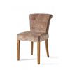 Homestore Meadow Dining Chair Velvet Dolphin
