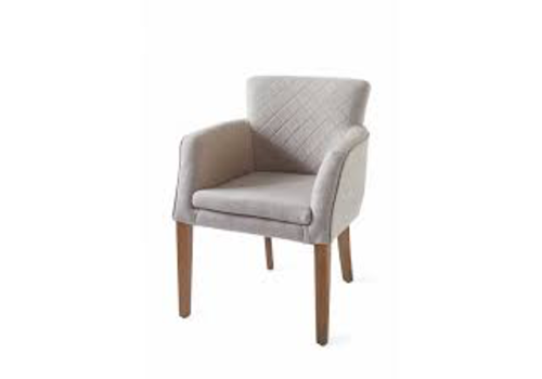 Homestore Waverly Dining Armchair linen Flax