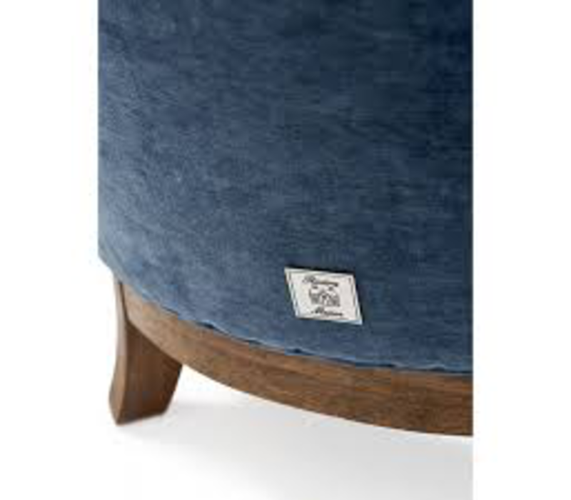 East Village Armchair Velvet Indigo