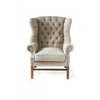 Homestore Franklin Park Wing Chair Linen Flax