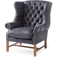 Franklin Park Wing Chair Pell Anthr