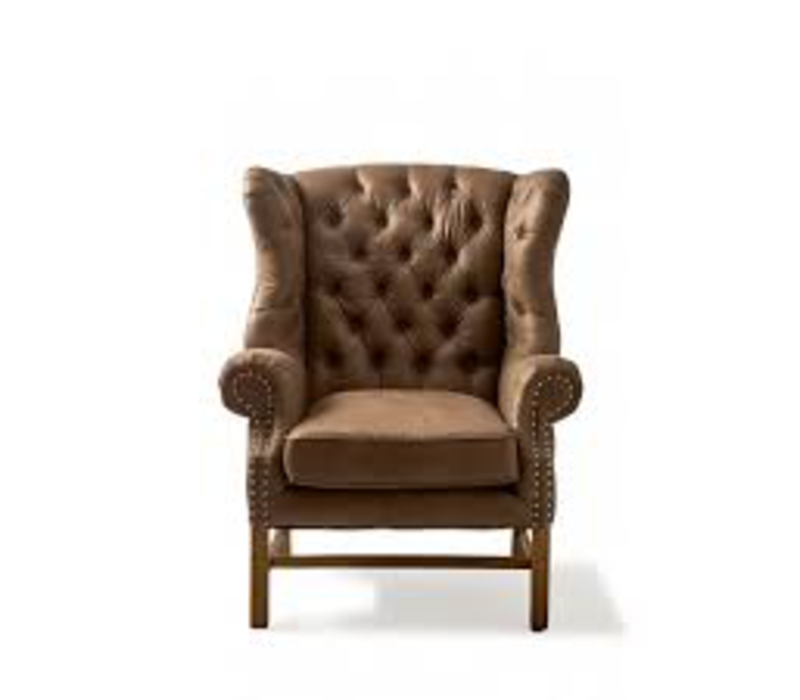 Franklin Park Wing Chair Pel Coffee