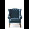 Homestore Franklin Park Wing Chair Vel Indigo