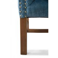 Franklin Park Wing Chair Vel Indigo