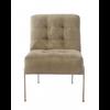 Homestore Soho Lobby Chair Velvet Granite