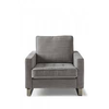 Homestore West Houston Armchair Cotton Grey