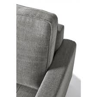 West Houston Armchair Cotton Grey