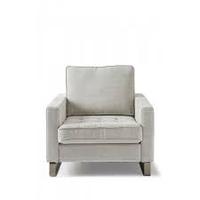 West Houston Armchair Cotton Ash Gr