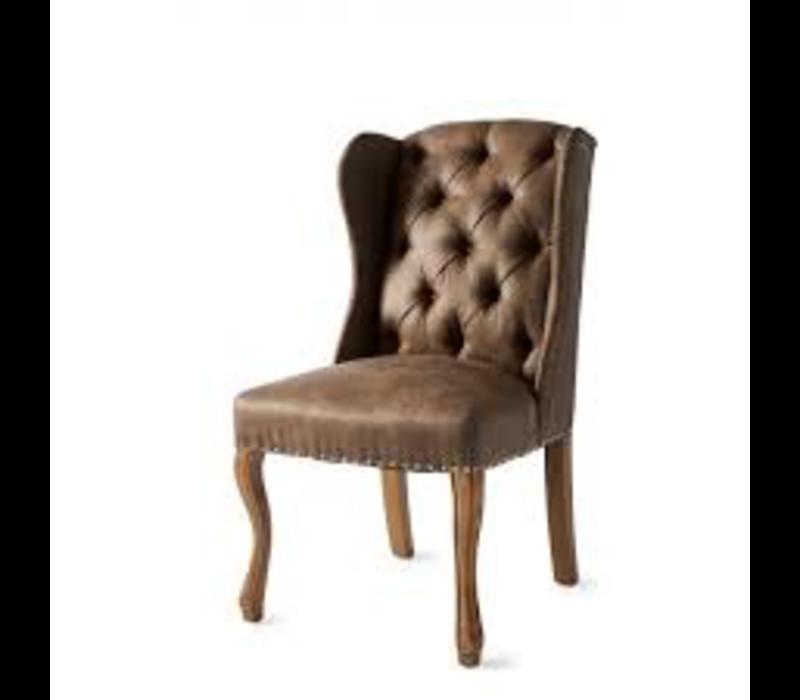 Keith II Dining Wing Chair pel Coff