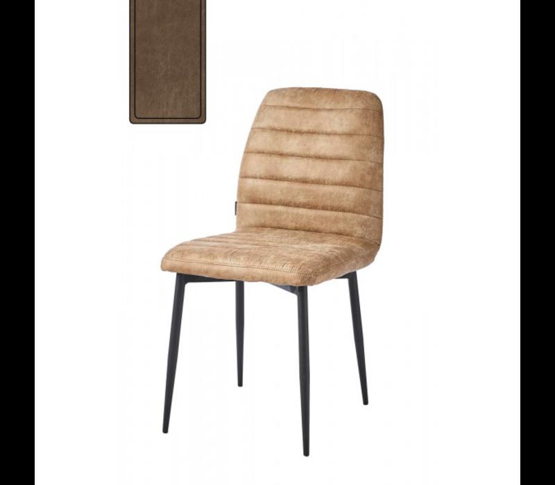 Rockefeller Dining Chair Pel Coffee