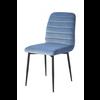 Homestore Rockefeller Dining Chair Vel Ice Bl