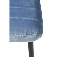 Rockefeller Dining Chair Vel Ice Bl