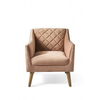 Homestore Contessa Armchair Velvet Blush