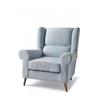 Homestore Delano Wing Chair Lin Morn Sky Blue