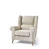 Homestore Delano Wing Chair Lin Fabulous Flax