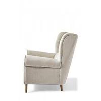 Delano Wing Chair Lin Fabulous Flax