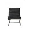 Homestore Thompson Lounge Chair Vel Midn Grey