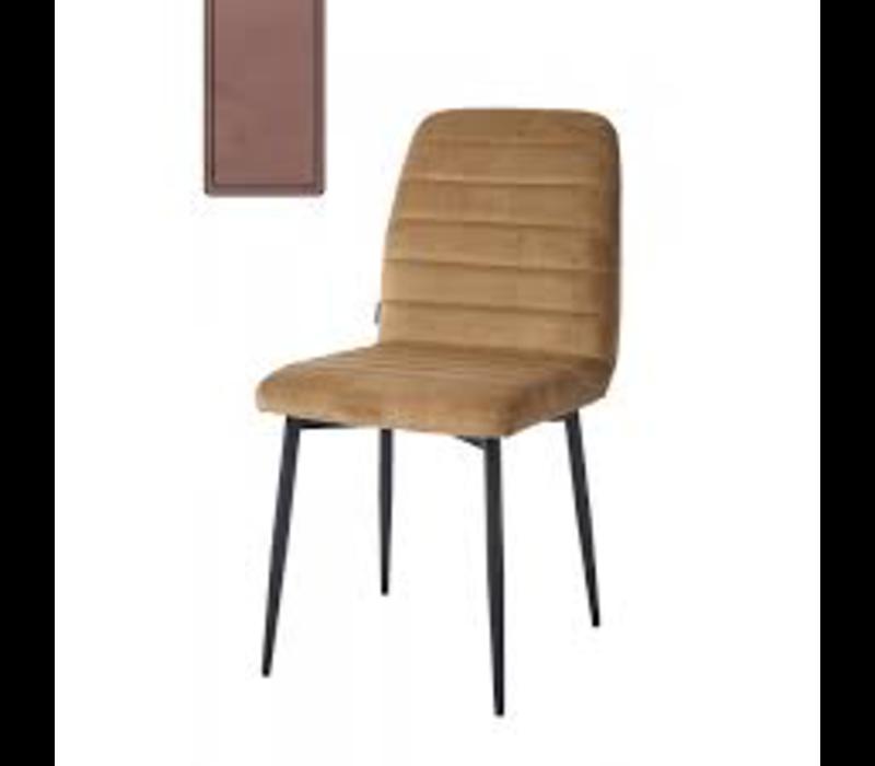 Rockefeller Dining Chair Vel Blush