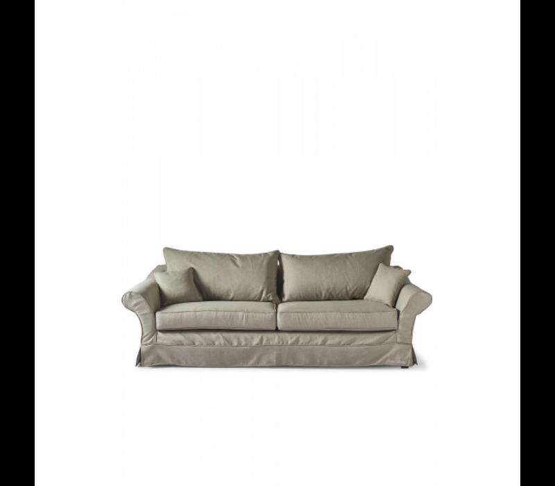Bond Street Sofa 3.5S Ansvers Flax