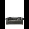 Homestore Crescent Avenue Sofa 3s Pel Anthr