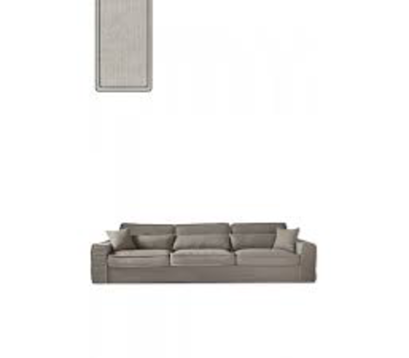 Metropolis Sofa XL Cotton Ash Grey