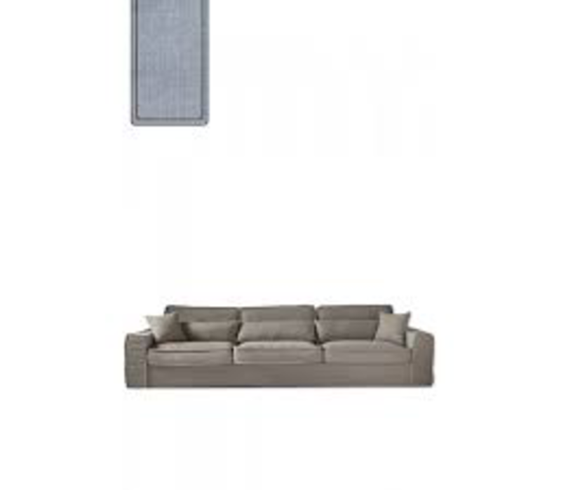 Metropolis Sofa XL Cotton Blue