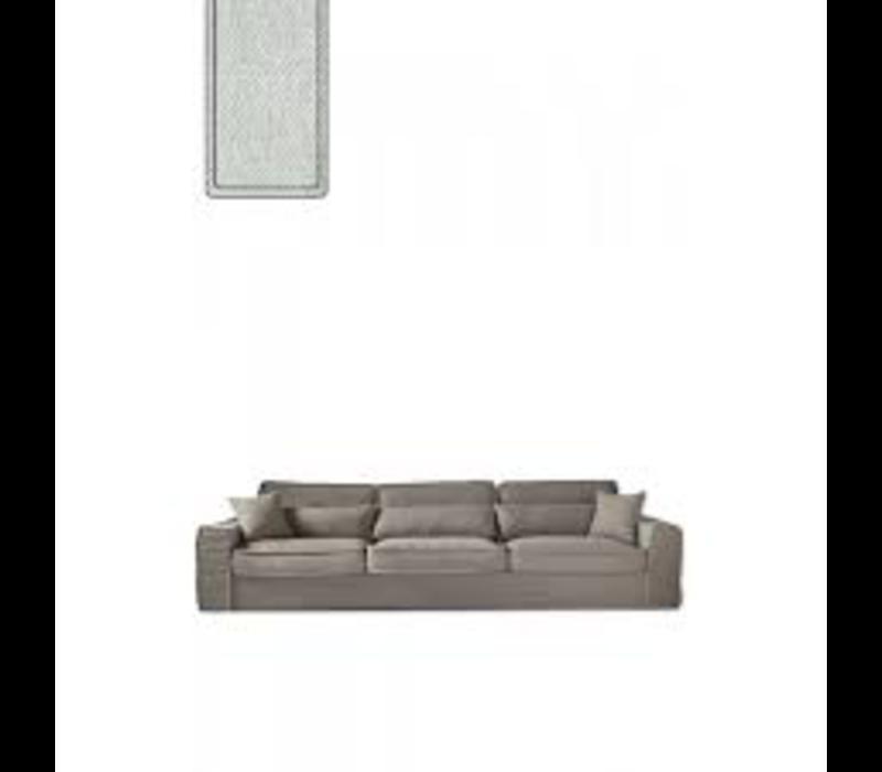 Metropolis Sofa XL Velvet Mint