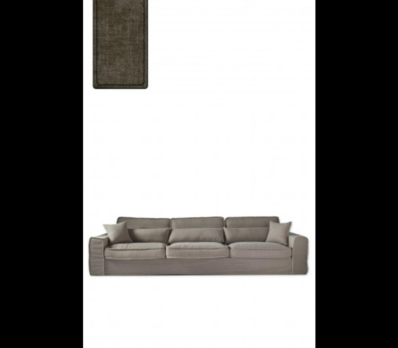 Metropolis Sofa XL Velvet Clay