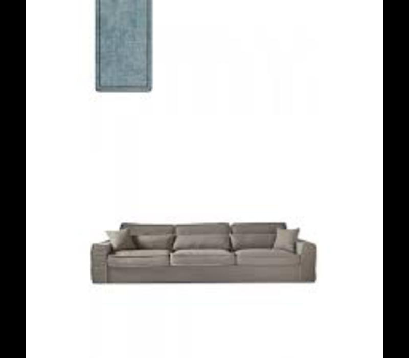 Metropolis Sofa XL Velvet LBlue