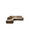 Homestore Brompton C C Sofa CL Left Vel Clay