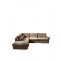 Brompton C C Sofa CL Left Vel Clay