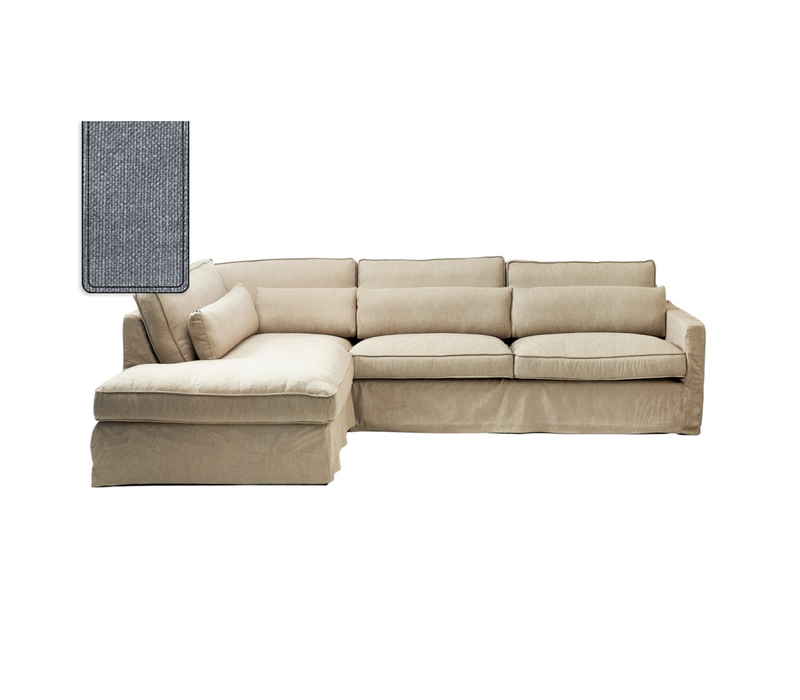 Brompton C Corner Sofa CL L Cot Blu