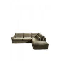 Brompton C C Sofa CL Right Vel Clay