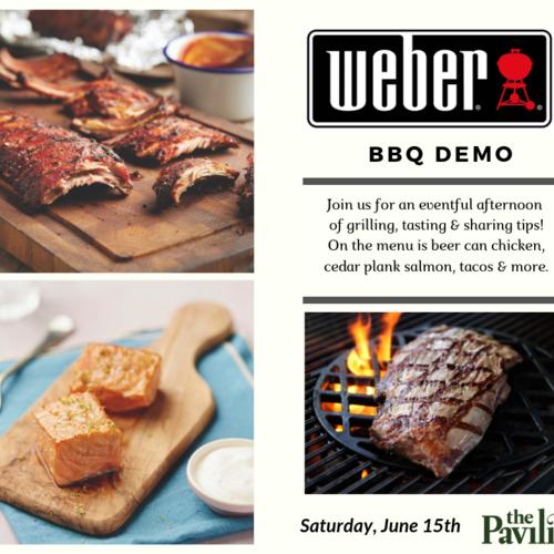 Weber BBQ Demo