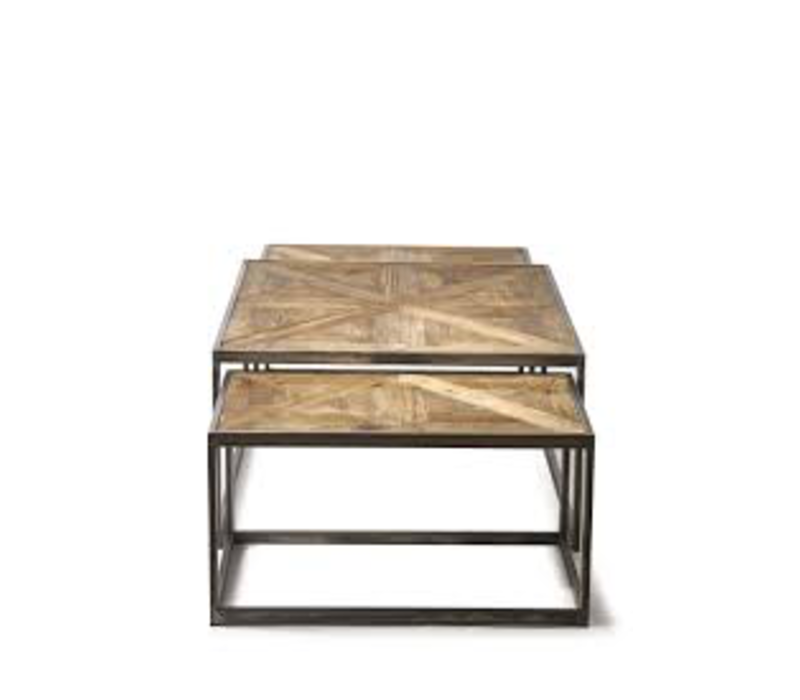 Le Bar American Coffee Table S/3