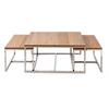 Homestore Monaco Coffee Table 90x90 S/3